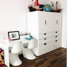 Babyzimmer ikea stuva  Shared spaces and growing kids means storage space is a must. With ...