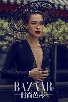Shu Qi for Harper's Bazaar China, August 2015