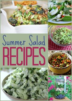 Here are 10 Amazing Summer Salad Recipes that will be perfect for your summer cookouts. Summer Salad Recipes, Summer Salads, Awesome Recipe, Healthy Food, Healthy Recipes, Weekday Meals, Digital Media, Rhode Island, My Favorite Food