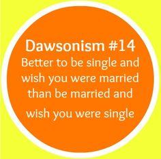 Dawsonism #14