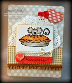 iEmbellish: From Cocoa's Kitchen: Sweet 'n Sassy Stamps February Release feature