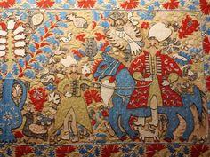 Greek Textiles in the Benaki Museum, Athens Benaki Museum, Greek Design, Some Image, Crete, Islamic Art, Tapestries, 17th Century, Athens, Fabric Crafts