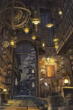 幻想 少女 イラスト 部屋 - Google 検索