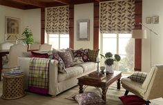Based around archive designs reminiscent of motifs from the Arts and Crafts Movement. Free Fabric Samples, English Decor, Curtain Patterns, Rooms Home Decor, Living Room Art, Fabric Design, Arts And Crafts, Drapery Fabric, Upholstery Fabrics