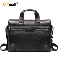 daa4de2e3bb3 2017 New Genuine Leather Bag For Men Briefcase Handbag Men Shoulder Bag  office Bag leather laptop briefcase SD 175-in Crossbody Bags from Luggage    Bags on ...