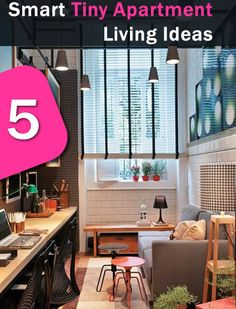 5 Smart Tiny Apartment Living Ideas