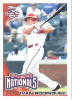 2010 Topps Opening Day Baseball Card # 44 Ivan Rodriguez - Texas Rangers - MLB Trading Card by Topps. $1.87. 2010 Topps Opening Day Baseball Card # 44 Ivan Rodriguez - Texas Rangers - MLB Trading Card