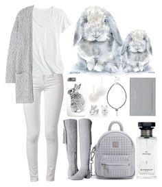 """Spirit Animals (Rabbit)"" by ubiquitous-merkaba ❤ liked on Polyvore featuring Givenchy, Tuleste, rag & bone, Nine West, Horny Toad, MANGO, Sole Society, Kenny & Co. and Balenciaga"
