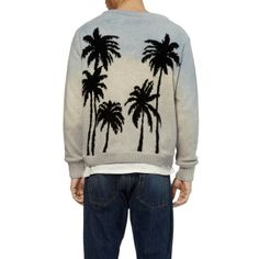 019a5c354 Palm-Pattern Cashmere Sweater by The Elder Statesman - lifestylerstore -  http