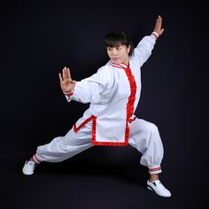 PinetreeKung Fu uniform features a cotton/polyester fabric for comfort and easy care. The jacket features traditional frog buttons for a traditional look. The pants feature an elastic waistband with a drawstring and elastic ankle cuffs Its full cut design won't restrict your movement but allow you to move more freely. Kung Fu is a term to describe this martial art as of Chinese origin. Southern styles of kung-fu were comprised of low stances, kicks, and strong hand techniques. This was so…