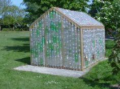 Como construir uma estufa com garrafas de plástico para proteger suas plantas