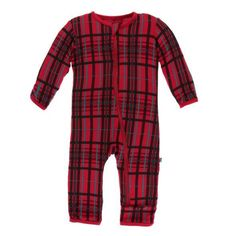 Kickee Pants - Holiday 2018 - Coverall – Zipper – Christmas Plaid Toddler Fashion, Kids Fashion, Fashion 2018, Fashion Dresses, Mud Pie Clothing, Plaid Christmas, Womens Clothing Stores, Cute Baby Clothes, Holiday Outfits