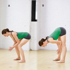 Great move to tone the tush and stretch your legs.