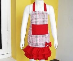 apron pattern for little girls 3-10