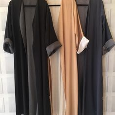From our new summer collection. #abaya #reversible