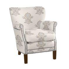 Custom Upholstered Belgian Chair in Designer Fabrics | Serena & Lily