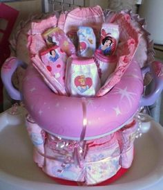 Potty training cake. Super cute idea for a 2-year old birthday gift! @ DIY Home Ideas