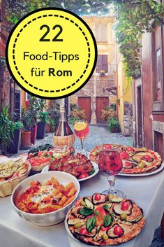 [orginial_title] – Travel All Around Rome short trip planned? Then pinnish these 22 food tips for Rome. From the cool… Rome short trip planned? Then pinnish these 22 food tips for Rome. From the cool … – Urlaub in Italien – Breakfast Party, Breakfast Cafe, White Pizza Recipes, Chicken Pizza Recipes, Pasta, Comida Pizza, Rome Food, Naan Pizza, Deep Dish