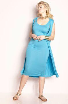 d73cfc59a9 REBDOLLS. Sleeveless DusterDuster DressWomens ClosetPlus FashionDiva  FashionLong ...