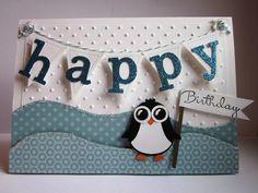 #stampin up - Happy Birthday - Owl Punch -  Eulenstanze - Pinugin
