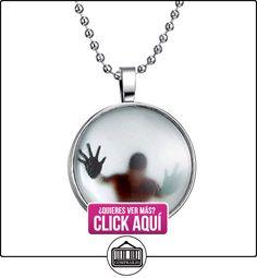 """fm42brilla en la oscuridad figura sombra redonda colgante collar con 23.6""""Bead cadena gn1115  ✿ Joyas para niños - Regalos ✿ ▬► Ver oferta: http://comprar.io/goto/B015O3IBQC"""