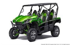 New 2016 Kawasaki Teryx4™ LE ATVs For Sale in West Virginia. Eager for action and ready to hit the trails, the Kawasaki Teryx4 side x side is built with the backing of over a century of Kawasaki Heavy Industries, LTD. knowledge and engineering. With the perfect combination of rugged sport performance and useful capability, the Teryx4 is up for any challenge.Features Redesigned front end with aggressive styling Optimized settings for Fox Podium 2.0 shocks The Kawasaki Strong 3-Year Limited…