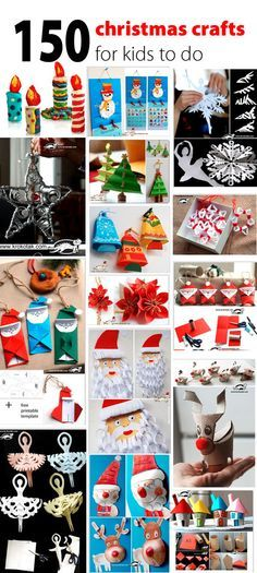 christmas crafts for kids to do