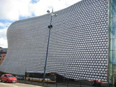 Bull Ring Shopping Centre a Birmingham nel West Midlands, England. Uno di quei posti che non puoi non notare!