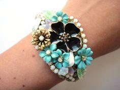 repurposed vintage jewelry