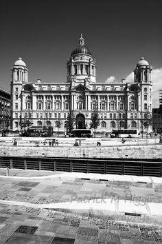 Port of Liverpool Building - Liverpool Liverpool History, Louvre, Architecture, Building, Photography, Travel, Arquitetura, Photograph, Viajes