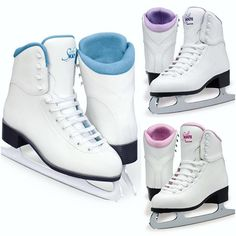 Jackson Softec GS181/GS184 The most popular beginner Jackson Recreational Ice Skates https://figureskatingstore.com/skates/toddler-skates/ Now available in Blue, Pink, Purple or Fleece lining Vinyl outer Fully lined upper and tongue with cushy foam padding for maximum comfort Nylex lining for warmth, comfort and durability Charcoal PVC outsole for easy care Nickel all purpose blade Made on a Jackson leisure last #figureskatingstore #figureskating #jacksonultima #figureskater