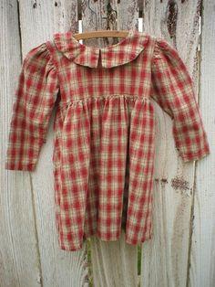 Primitive Farmhouse Prairie Dress