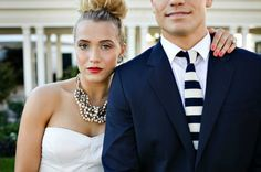 oh so chic wedding style