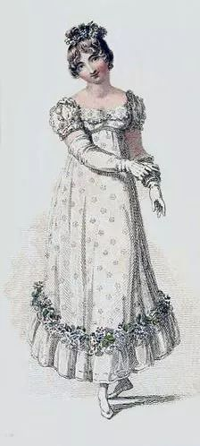 In the 1800s, gloves of suitable material, color, and style were worn when in full dress or when attending balls or parties. This occurred because people offered a gloved hand when greeting one another. In the 1870s, light colored gloves were more acceptable as they were considered more delicate and elegant. If a woman had a limited budget and could not afford a large stock of different colored gloves, neutral tints tended to suit any outfit she might select. Light gloves were also popular with