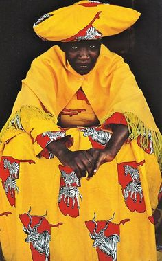Herero woman. Namibia