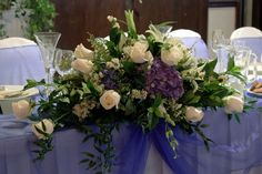 bridal table centerpieces - Google Search