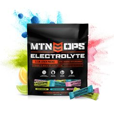 Mtn Ops, Save Yourself, Improve Yourself, Muscle Function, Lemon Lime, Nutritional Supplements, Natural Flavors, Physical Activities, Recovery