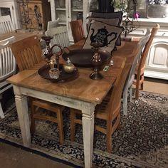 Old Oz- Styled Teak table...