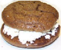 TLC Whoopie Pies - only 9 gr carbs and sugar free.