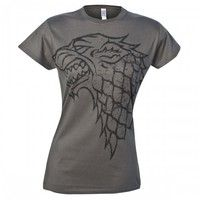 Game Of Thrones Distressed Stark Sigil Womens T Shirt Hbo Shop Europe Stark Sigil