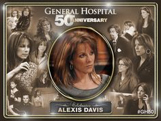 50th Anniversary General Hospital Alexis Davis