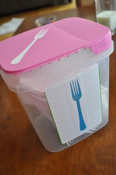 I Am Momma - Hear Me Roar: Organizing with Leftover Containers