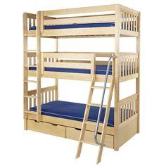beautiful triple bunk bed