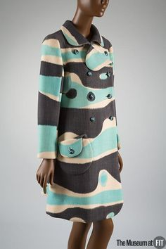 Emanuel Ungaro Coat - France ca.1968. Wool
