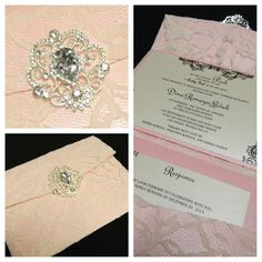 An invitation idea for a princess themed quinceanera