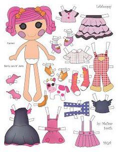 Miss Missy Paper Dolls
