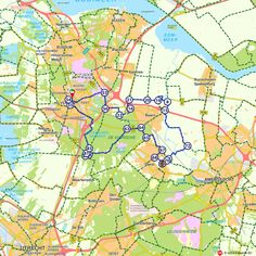 Fietsroute: Koninklijk route naar Soestdijk en Drakensteyn (http://www.route.nl/fietsroutes/138968/Koninklijk-route-naar-Soestdijk-en-Drakensteyn/)