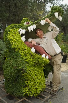 Can't wait to go to the Flower and Garden Festival!