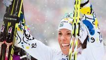 Kalla är bäst i världen <3  Charlotte Kalla  Sweden