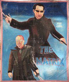 Hilarious Bootleg Movie Posters from Ghana: The matrix
